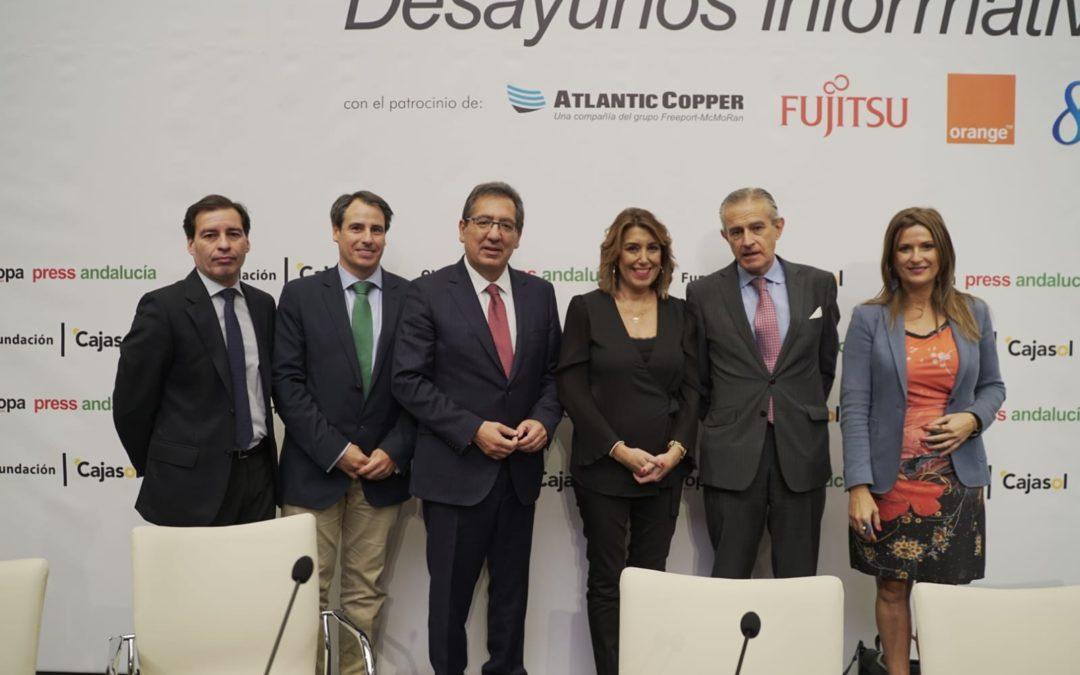 Desayuno Informativo de Europa Press Andalucía con Susana Díaz