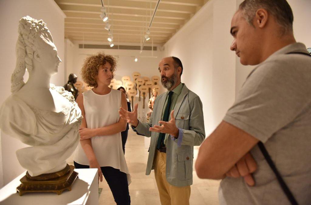 La Escultura de la Colección de Arte de la Fundación Cajasol llega a Cádiz