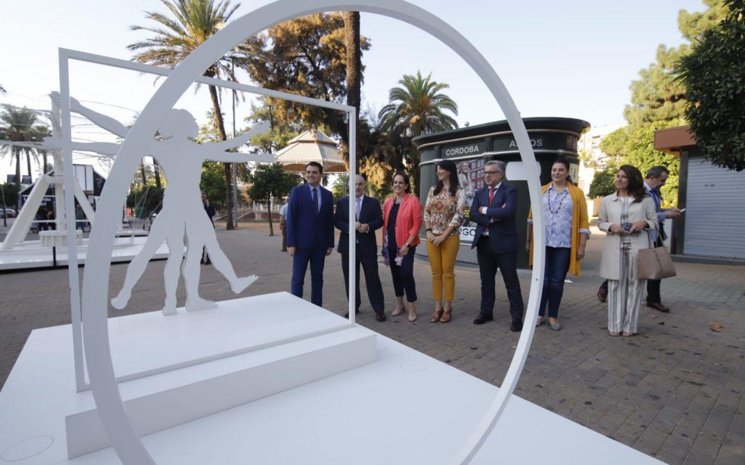 'Arte en la Calle' con Leonardo da Vinci en Córdoba: Observa, cuestiona, experimenta…