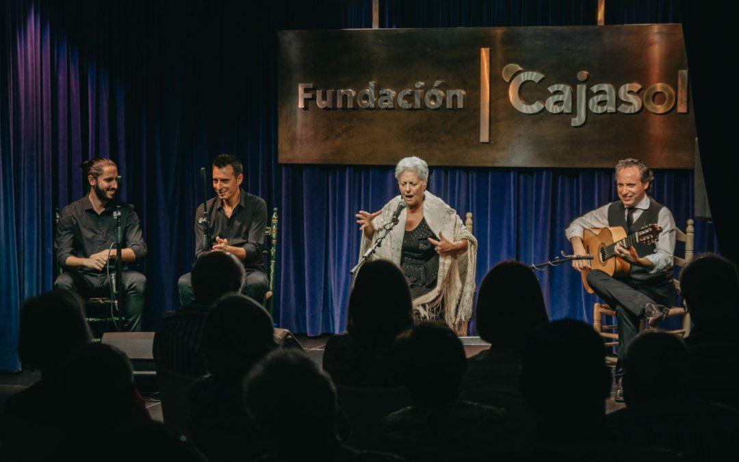Tina Pavón inaugura el IV Festival Flamenco 'Ciudad de Huelva' en la Fundación Cajasol