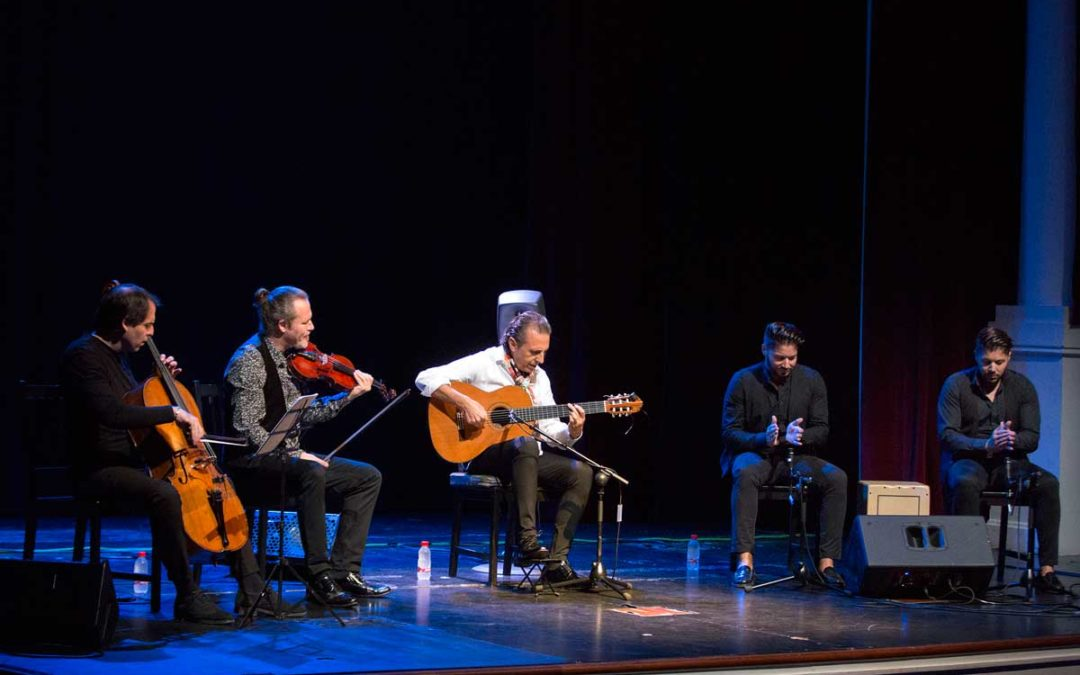La guitarra de Juan Carlos Romero repite presencia en los Jueves Flamencos de la Fundación Cajasol en Sevilla