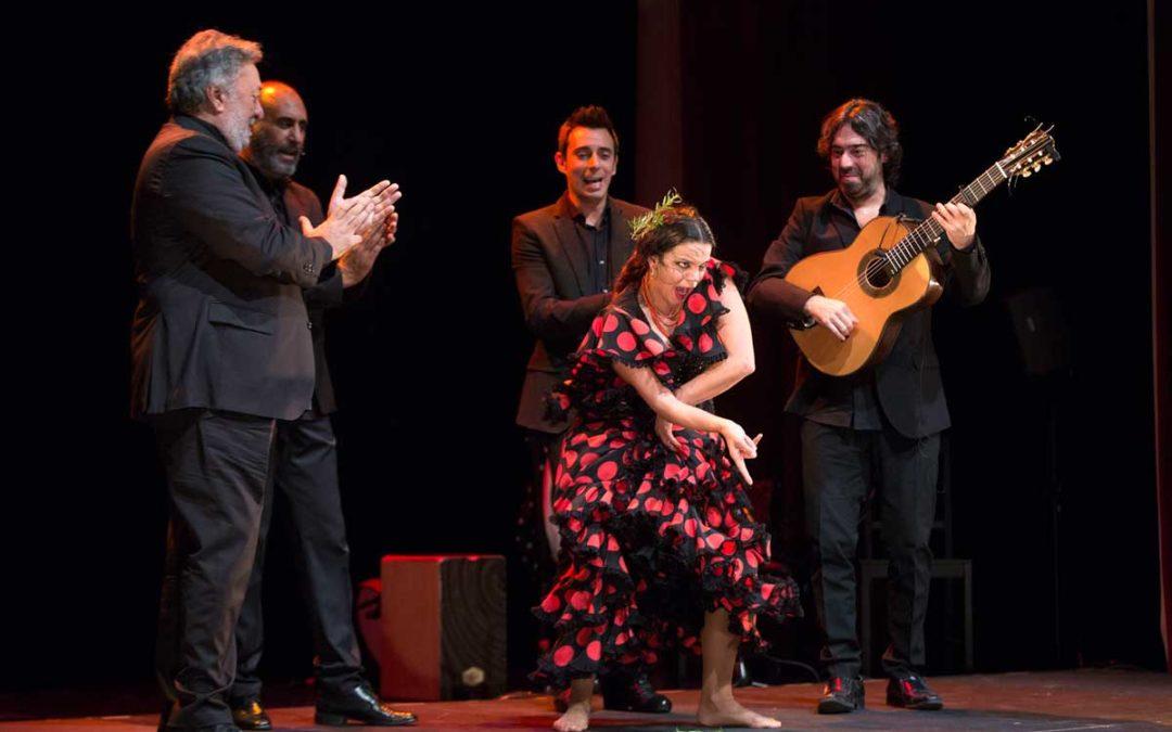 María Moreno presenta 'Yo bailo' en los Jueves Flamencos de la Fundación Cajasol
