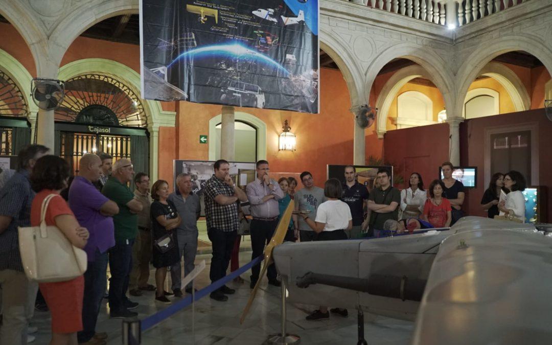 Gran ambiente cultural en la Fundación Cajasol durante la Noche en Blanco Sevilla 2019