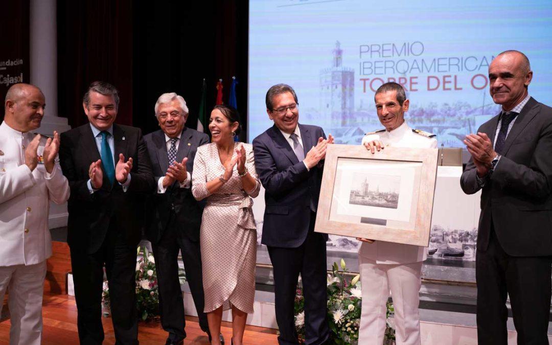 El Buque-Escuela Juan Sebastián Elcano, Premio Iberoamericano Torre del Oro 2019