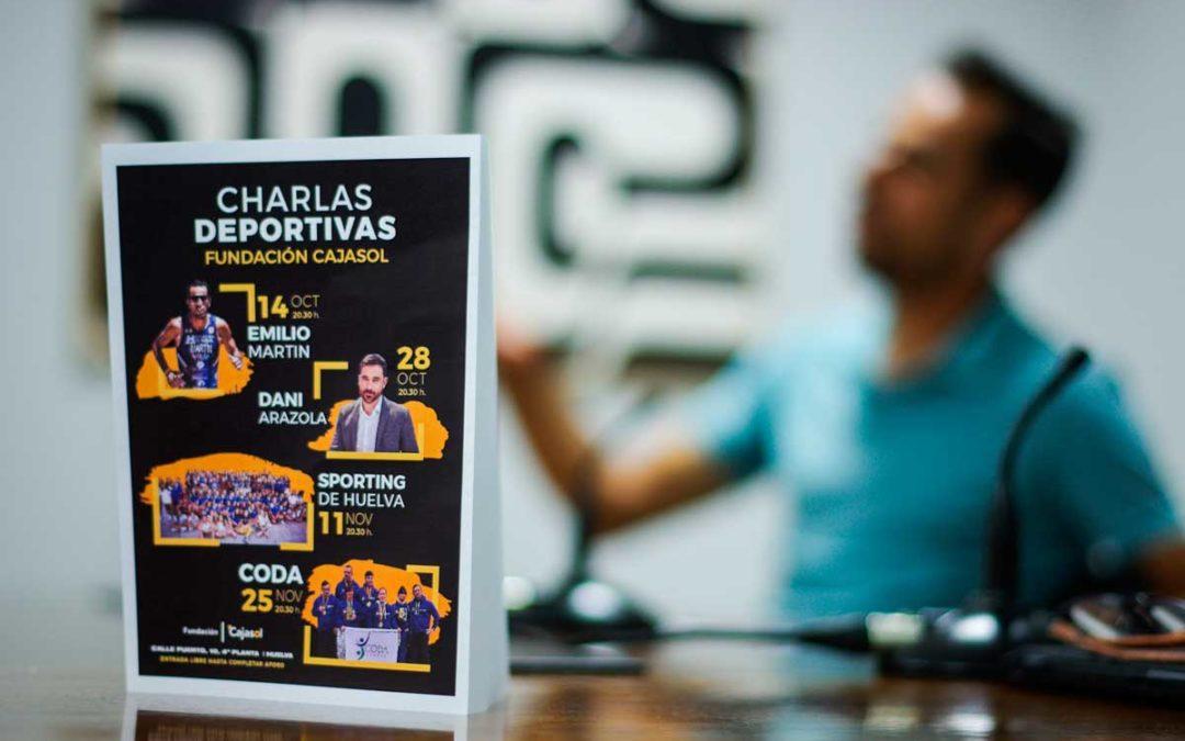 La Fundación Cajasol estrena su ciclo de Charlas Deportivas en Huelva