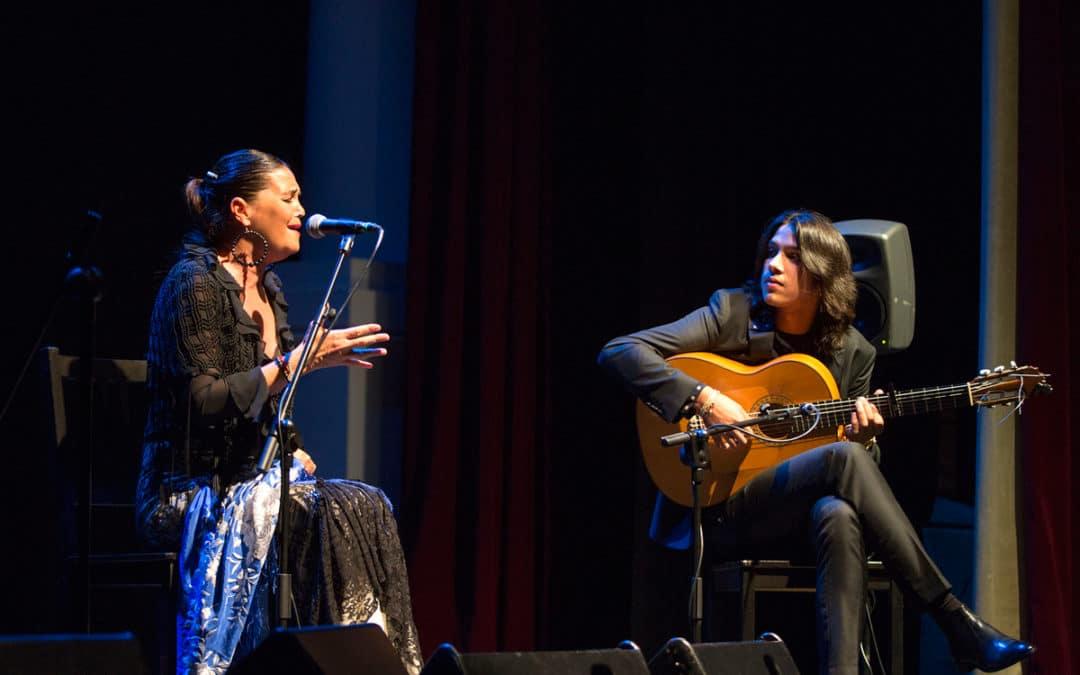 Sonia Miranda y José del Tomate, ritmo y naturalidad en los Jueves Flamencos con 'Agua Dulce'