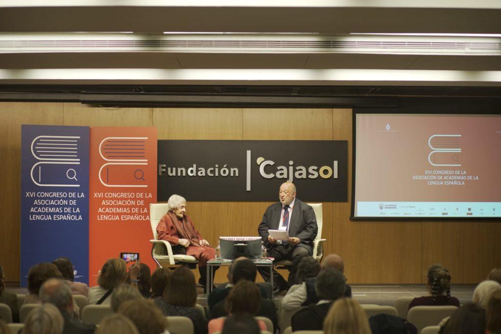 Ida Vitale en el XVI Congreso ASALE en la Fundación Cajasol