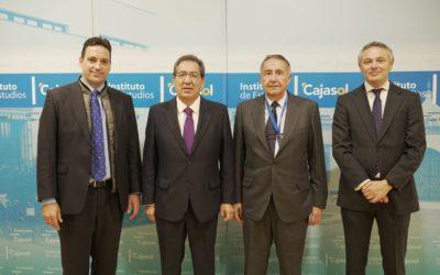 Desayuno-Coloquio del Club de Directivos Andalucía con el Presidente de Ayesa en el Instituto de Estudios Cajasol