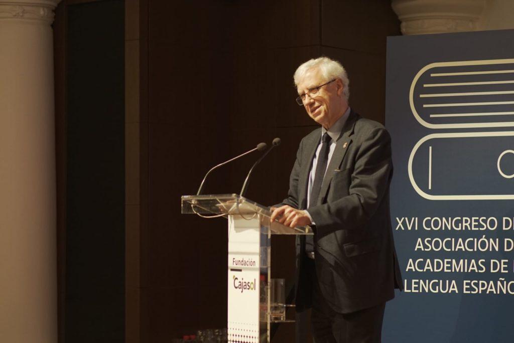 Conferencia de José Manuel Sánchez Ron en la Fundación Cajasol