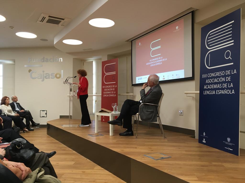 Conferencia 'Historia y lengua', de Carmen Iglesias en la Fundación Cajasol