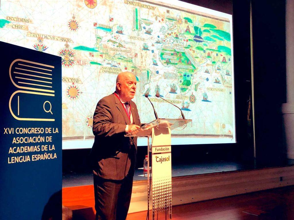 Conferencia de Juan Gil en el XVI Congreso de ASALE en Sevilla