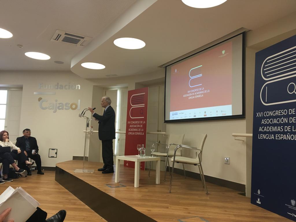 Conferencia de Luis Goytisolo 'Palabros' en la Fundación Cajasol
