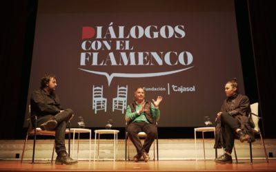 Rocío Molina e Isaki Lacuesta, flamenco y cine en la Fundación Cajasol