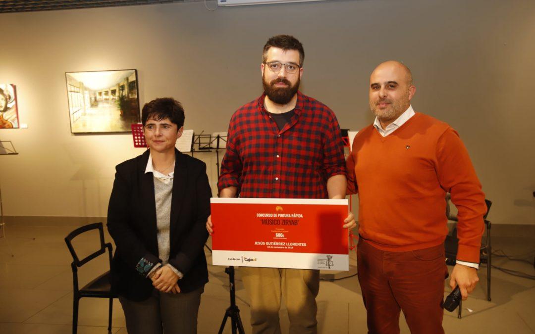 Entrega del Primer Premio del Certamen de Pintura Músico Ziryab en Córdoba