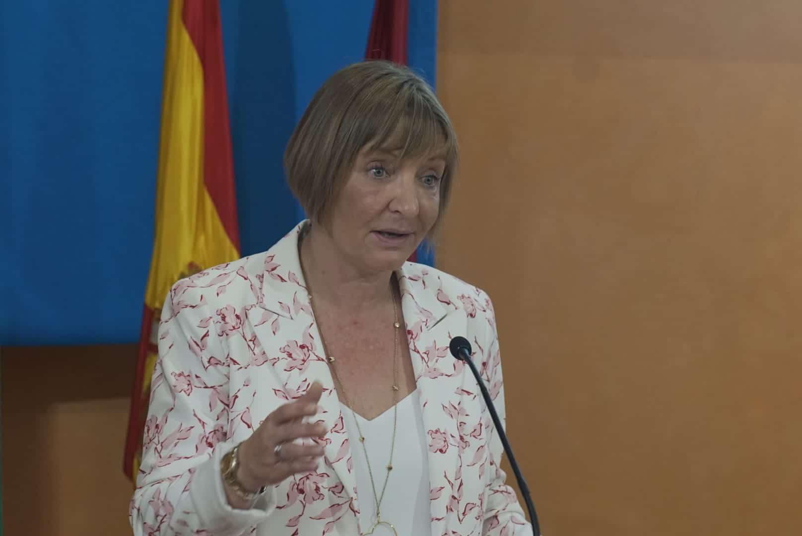 María Jesús Catalá, en la inauguración del curso 2019-2020 del Instituto de Estudios Cajasol