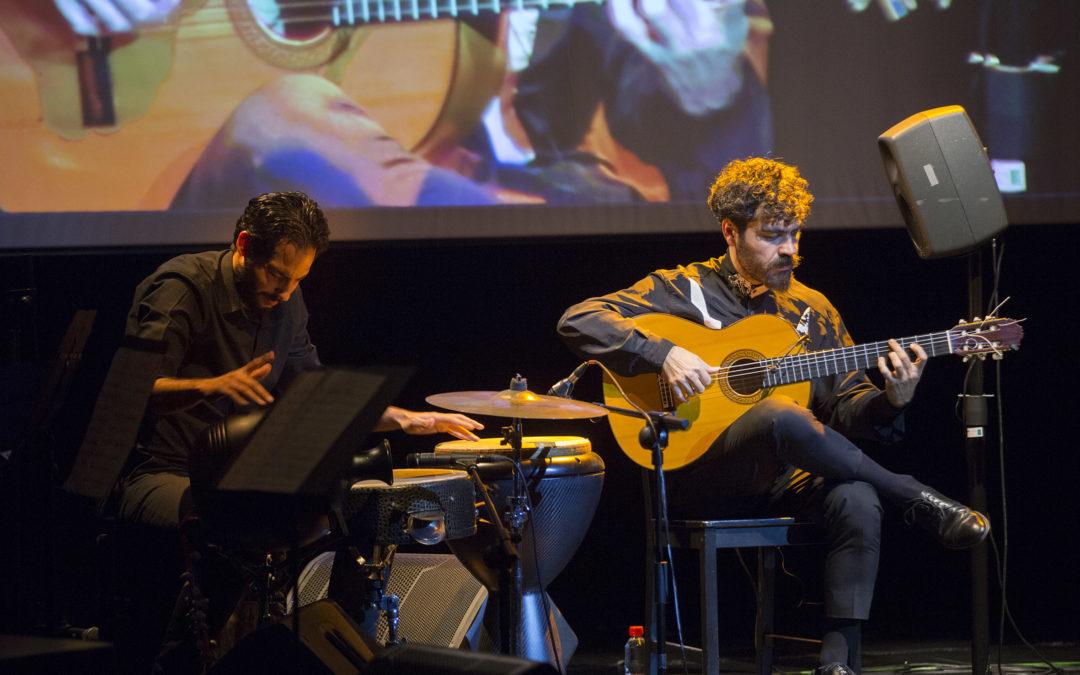 La guitarra de Joselito Acedo en los Jueves Flamencos de la Fundación Cajasol en Sevilla
