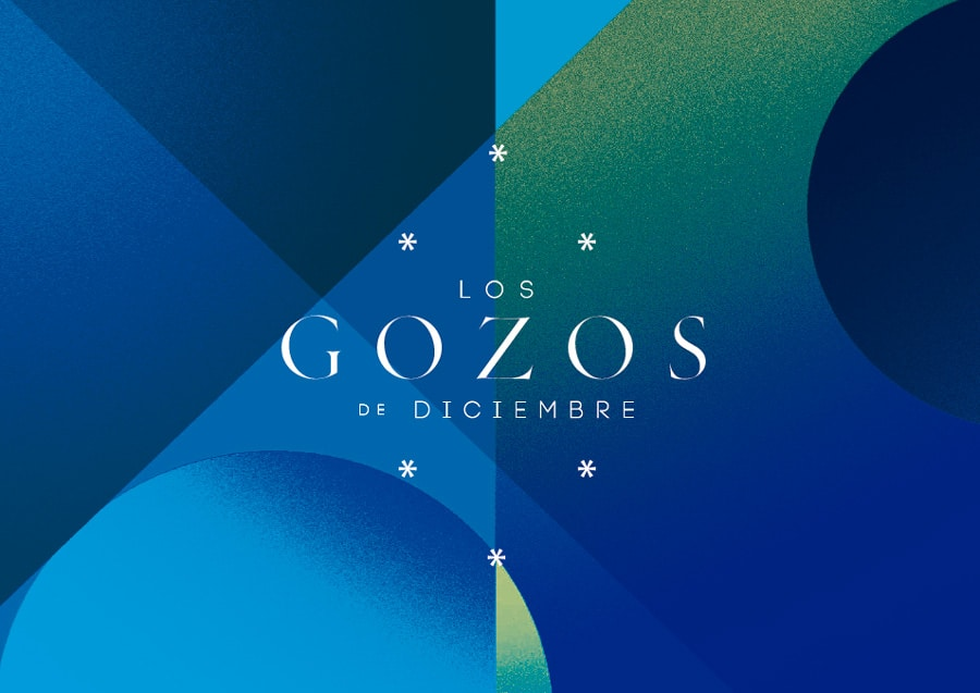 Logo de los Gozos de Diciembre 2019 de la Fundación Cajasol