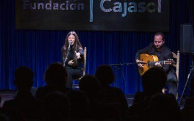 Lucía Beltrán y Ana Lorenzo cierran el XIII Ciclo de Jóvenes Flamencos de Huelva