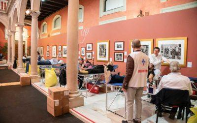 Éxito de participación en el Maratón de donación de sangre prenavideño en Sevilla