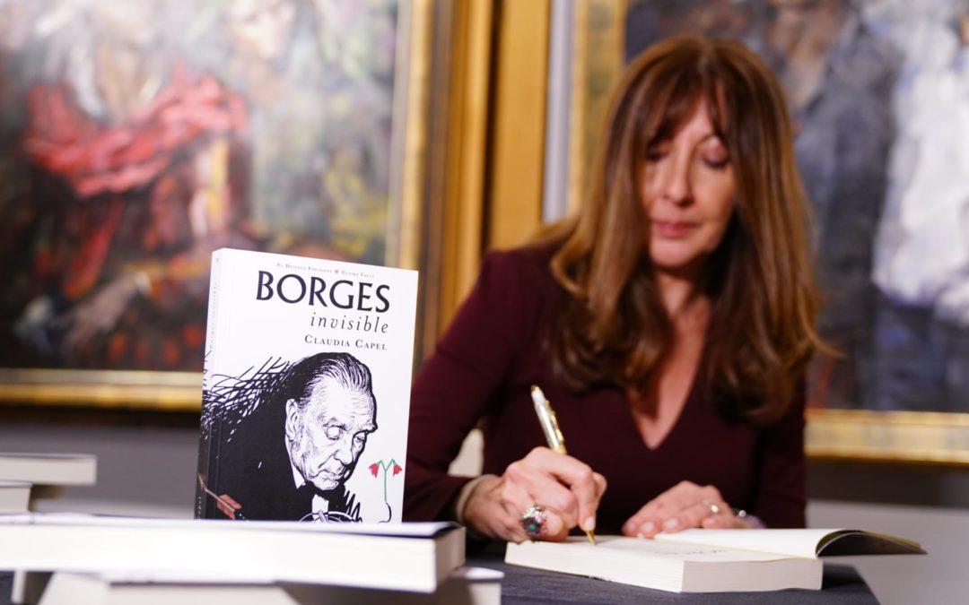 Claudia Capel presenta su visión sobre el 'Borges invisible' en Córdoba