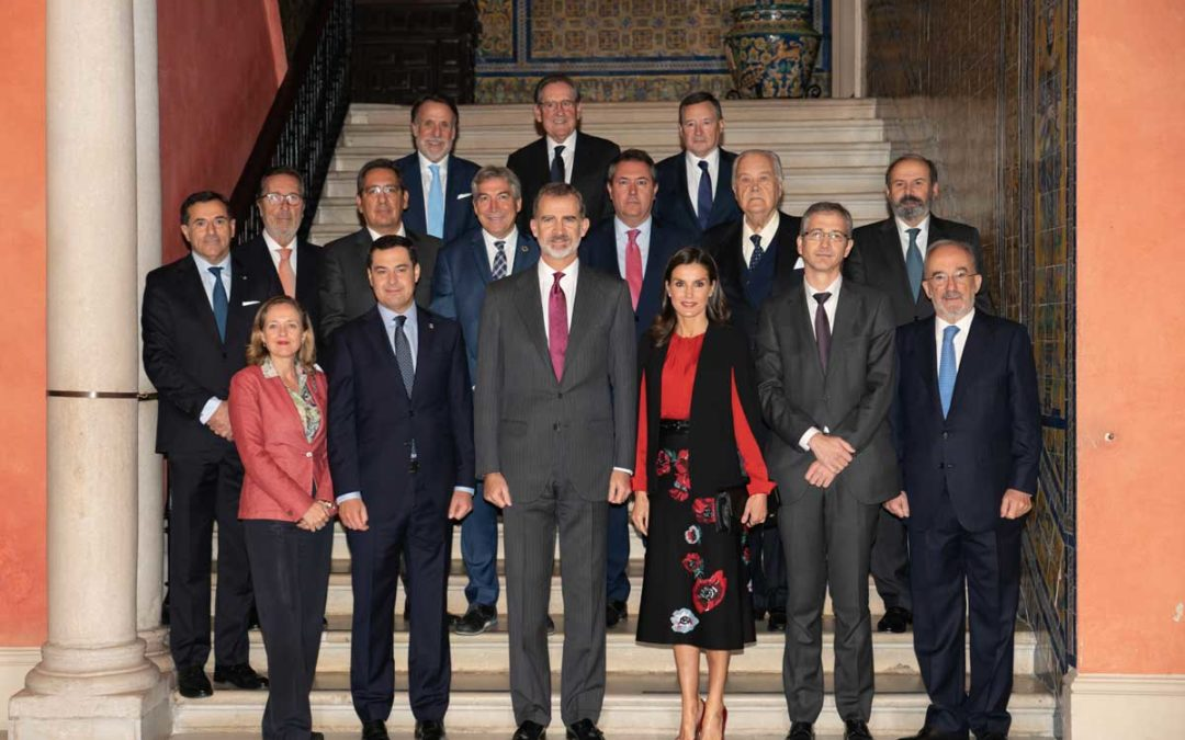 Los Reyes clausuran el XVI Congreso de la Asociación de Academias de la Lengua Española en Sevilla