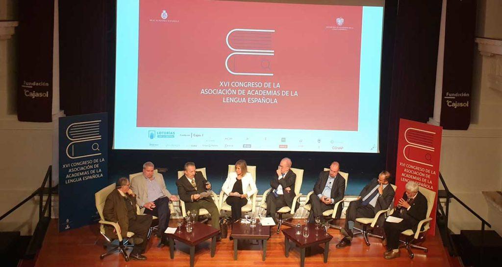 Mesa redonda 'La edición en español'.Moderado por Santiago Muñoz Machado (RAE y ASALE)