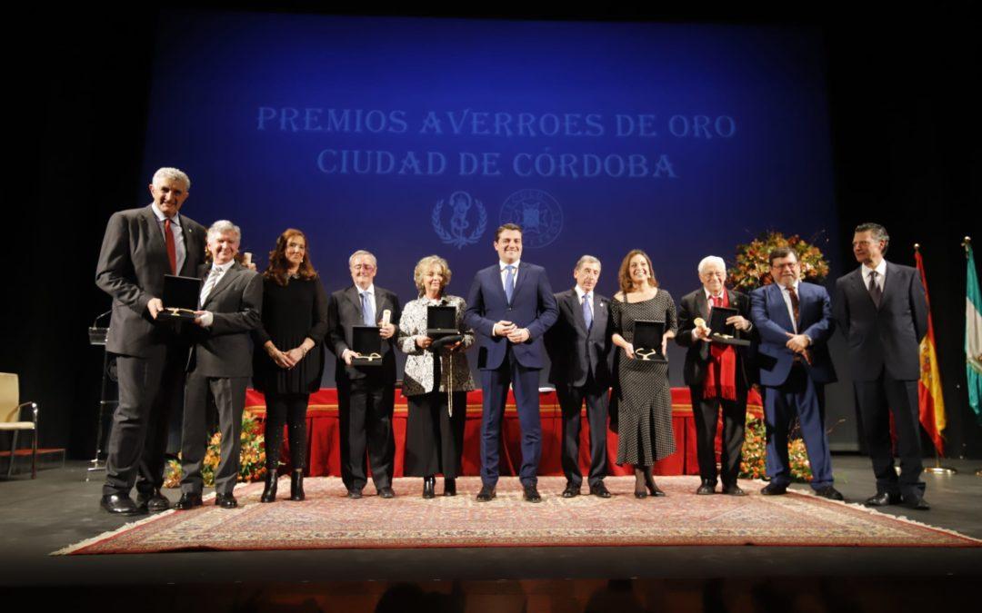 Entrega de los Premios Averroes de Oro Ciudad de Córdoba 2019