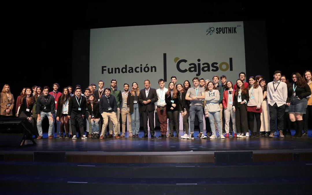 La Fundación Cajasol, socio principal del proyecto Sputnik: ¡Despegamos hacia el futuro!
