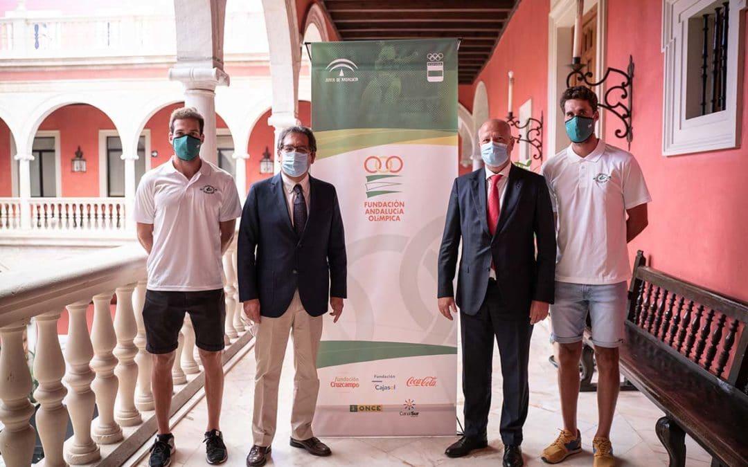 La Fundación Cajasol y la Fundación Andalucía Olímpica, más de veinte años colaborando para apoyar el deporte y sus valores