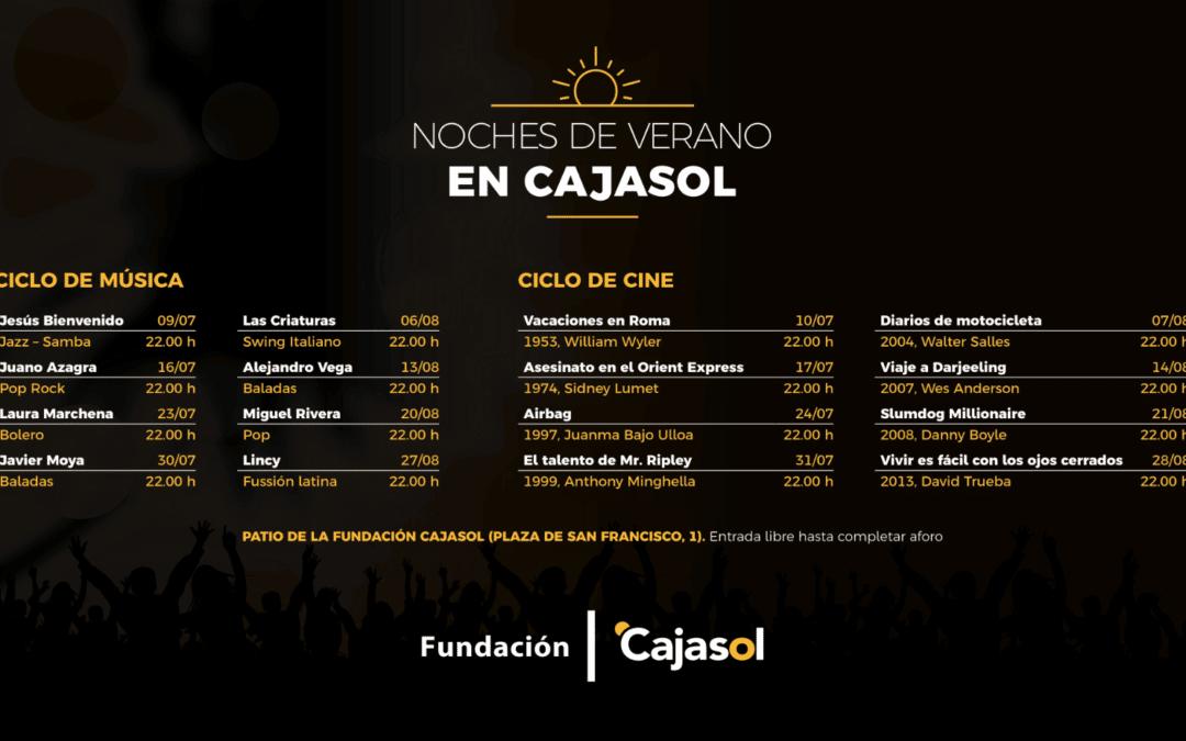 Las 'Noches de Verano Cajasol' siguen en agosto: Los mejores planes en el centro de Sevilla