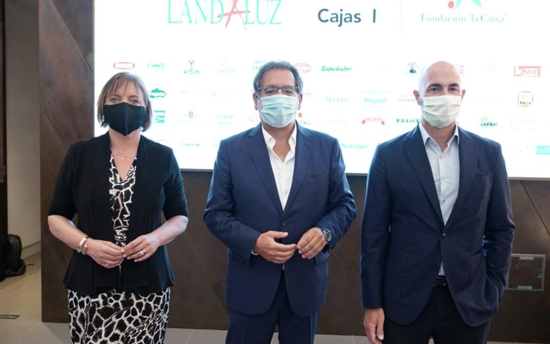 Andaluces Compartiendo presenta su campaña de acción social 2020 en la Fundación Cajasol
