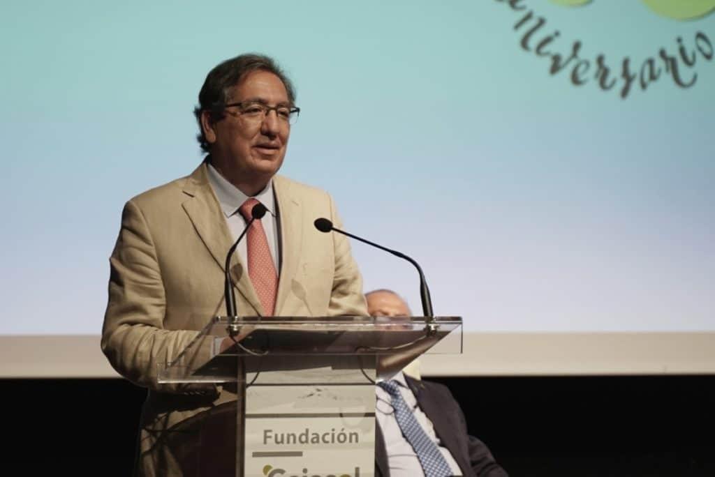 Antonio Pulido, en la presentación del cartel de las Carreras Sanlúcar 2020