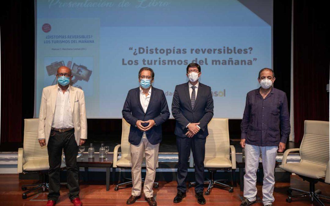 Manuel J. Marchena Gómez presenta el libro '¿Distopías reversibles? Los turismos del mañana' en la Fundación Cajasol