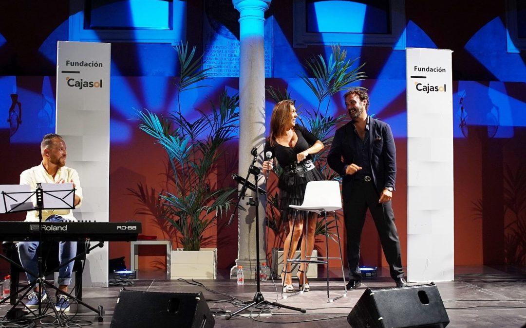 Joana Jiménez y Alejandro Vega, en las Noches de Verano de la Fundación Cajasol