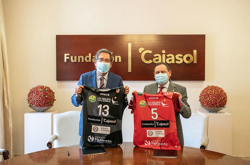 Fundación Cajasol y Club Agrupación de Voleibol Esquimo, más de una década fomentando el deporte como método de vida saludable