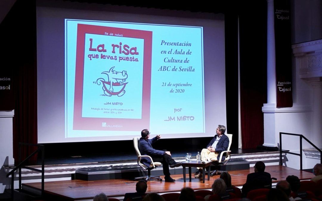 Las viñetas de humor de José María Nieto, en el Aula de Cultura ABC de Sevilla desde la Fundación Cajasol