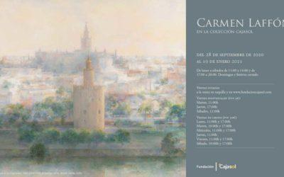 La apertura de la exposición 'Carmen Laffón en la Colección Cajasol' prolonga el 'Semestre Laffón' en Sevilla