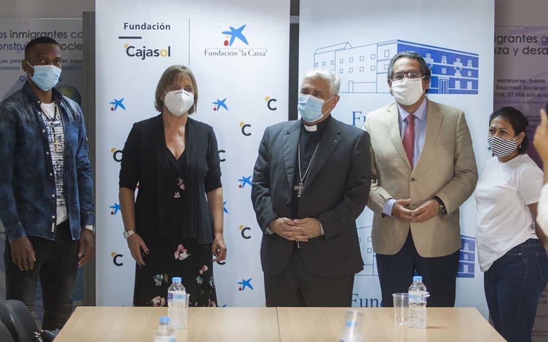 La Fundación Cajasol y la Fundación 'la Caixa' apuestan por la igualdad de oportunidades con la colaboración con el Centro 'Tierra de Todos'