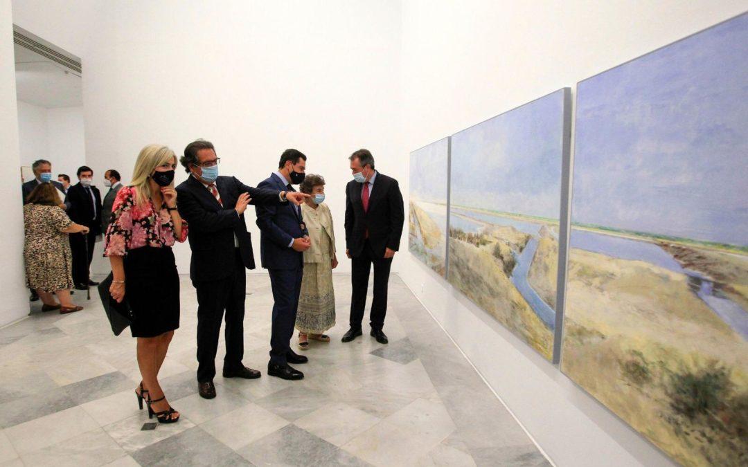 El 'semestre Laffón' arranca con la inauguración de la exposición 'La sal' en el Centro Andaluz de Arte Contemporáneo