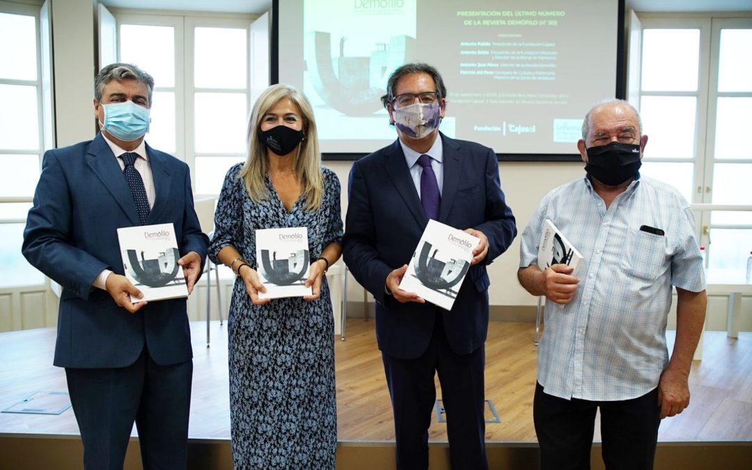 Presentación de la Revista Demófilo, que alcanza su número 50, en la Fundación Cajasol