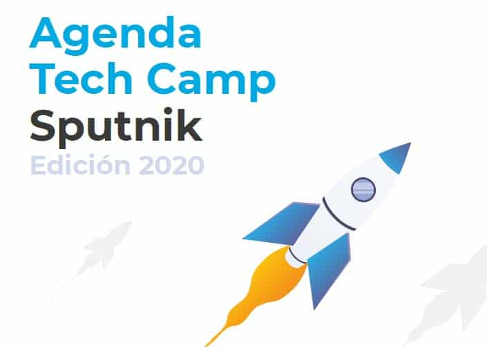 Cartel del II Tech Camp Sputnik
