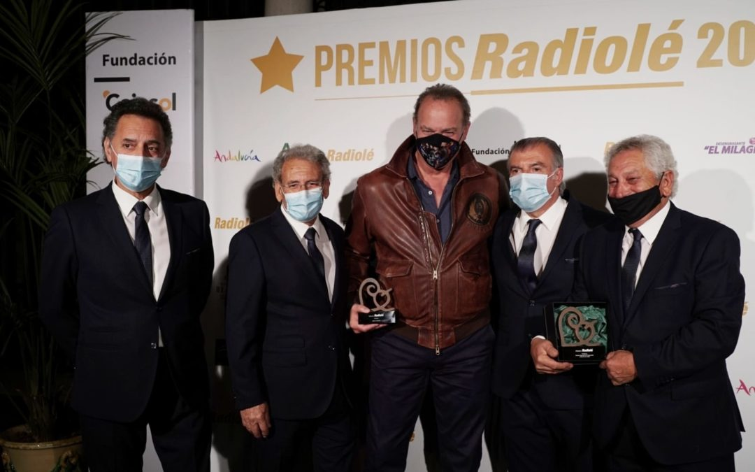 Entrega de los VI Premios Radiolé en la Fundación Cajasol