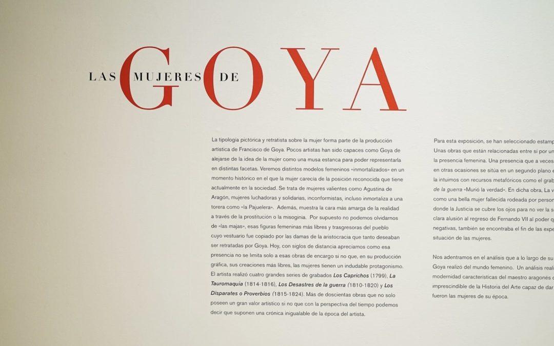 Exposición 'Las mujeres de Goya', del 23 de octubre al 10 de enero, en Sevilla