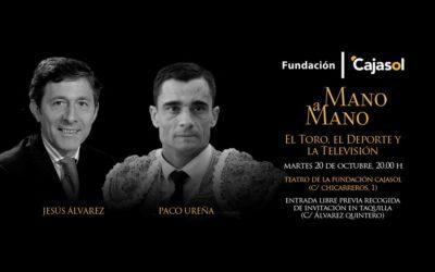 Paco Ureña y Jesús Álvarez, Mano a Mano en la Fundación Cajasol