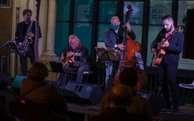 Mario Pousada, en el ciclo 'Jazz en la Cuarta' de la Fundación Cajasol en Huelva