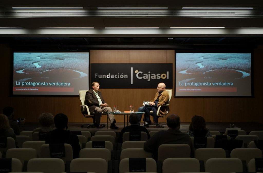 Gonzalo Giner, Premio Fernando Lara de Novela 2020, en la Fundación Cajasol