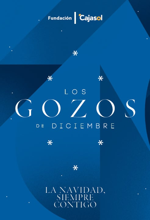Cartel de Los Gozos de Diciembre 2020 de la Fundación Cajasol