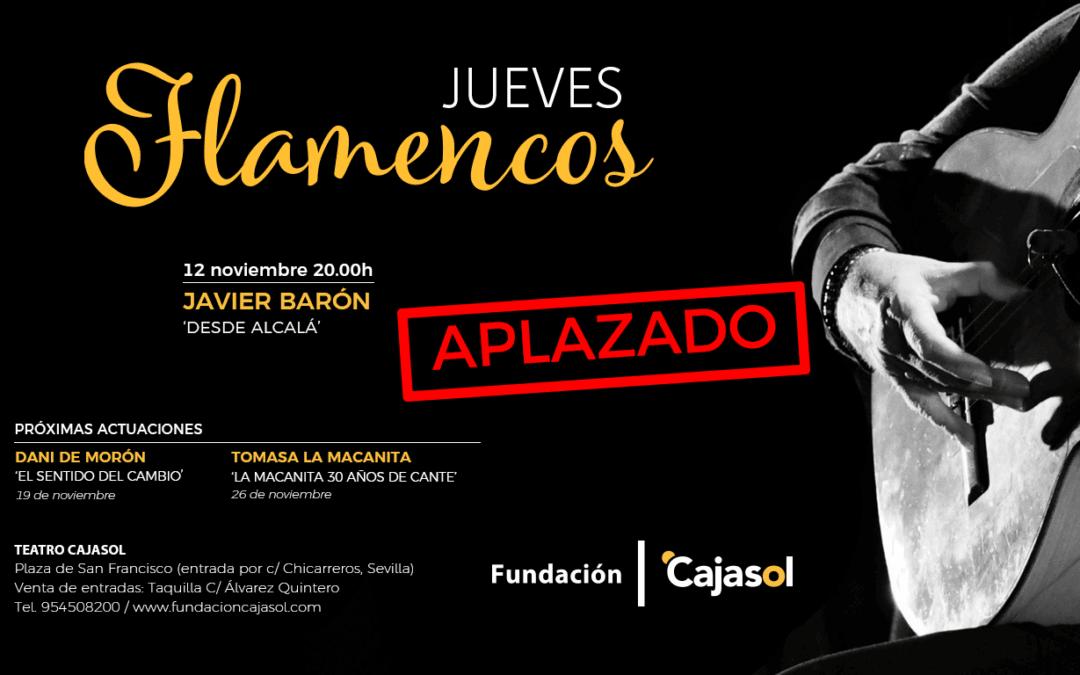 Aplazados los Jueves Flamencos de la Fundación Cajasol en Sevilla (fecha por determinar)