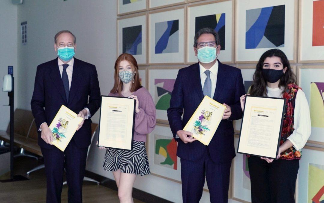 Entrega del V Premio de Narrativa Escolar José María Pemán en la Fundación Cajasol
