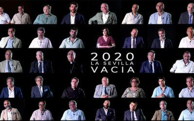 Estreno del documental '2020, la Sevilla vacía' en la Fundación Cajasol